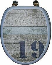 FRANDIS 191443 Abattant WC charnières métal,