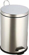 Frandis - p354053 - Poubelle à pédale 20l gris