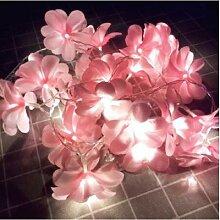 Frangipani – guirlande lumineuse à fleurs, 1.5m