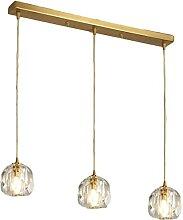 FREENN Lampe Plafond en Laiton Vintage 3 Tête