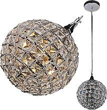 FREENN Lustre Boule Cristal Moderne, Lampe