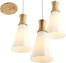 FREENN Moderne Luminaire Suspension en Bois 3