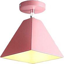 FREENN Plafonnier LED Moderne, 7W Macaron Lampe de