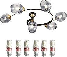 FREENN Rétro LED Plafonnier 72W Éclairage de