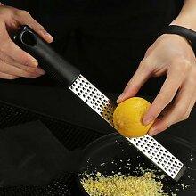 Fromage Zester Portable en acier inoxydable citron