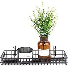 Frosted Multi-usages Mesh Wall Metal Wire Basket,