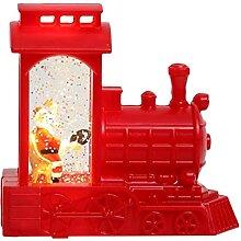 Frotox Père Noël Conduite Train Tempête