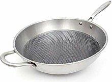 FRY PAN CHEF CLASSIC WOK NO-Stick Pot NO-Stick