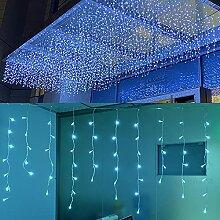 FTON Guirlande lumineuse à LED blanc givré, 4 m,