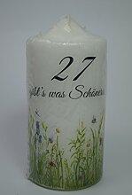 Fürhapter Bougie d'anniversaire 27 Ans