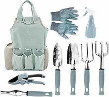 Fugift Ensemble d'outils de jardinage 9
