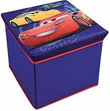 FUN HOUSE 712768 Disney Cars Tabouret de Rangement