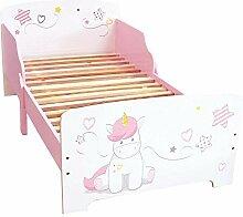 Fun House 713044 Licorne Lit pour Enfant, Blanc,