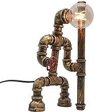 FURNITURE Fer Art Industrie Lampe de Table