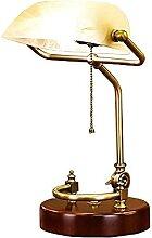 FURNITURE Lampe de Banquier Traditionnelle, Base