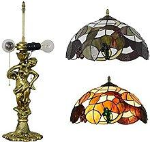 FURNITURE Lampe de Table Art Européen Rétro