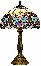 FURNITURE Lampe de Table En Verre Taché de 12