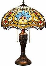 FURNITURE Lampe de Table En Verre Taché de 40 Cm,