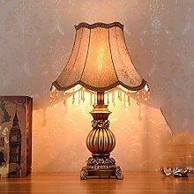 FURNITURE Lampe de Table Marron Marron Abat-Jour