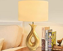 FURNITURE Lampe de Table Matière Tissu Circulaire