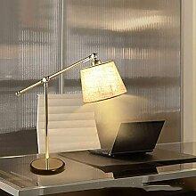 FURNITURE Lampe de Table Nordique Simple Abat-Jour