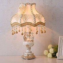 FURNITURE Lampe de Table Rétro Grade Blanc Gland