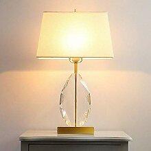 FURNITURE Lampe de Table Simple Blanc Abat-Jour