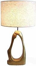 FURNITURE Lampe de Table Simple Or Résine Lampe