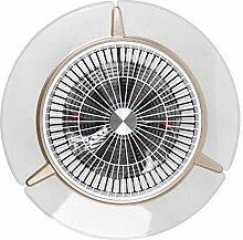 Futchoy Ventilateur de Plafond LED avec Éclairage