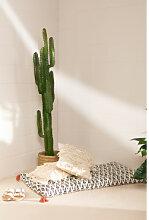 Futon en coton (115x58 cm) Ypis Blanc Cassé Sklum
