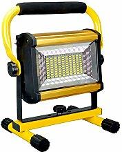 FWZJ Projecteurs Rechargeables 8000LM 100W Lampe