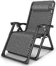 FXBFAG Chaise de camping pliable, chaise longue de