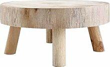 FXforer Mini tabouret en bois - Support de plantes