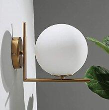FXLYMR Applique Lustre de Luxe Mode Salon Ronde
