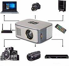 FXQIN Vidéo projecteur HD, Mini projecteur LED