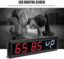 Fydun horloge numérique LED 2.3 `` Programmable