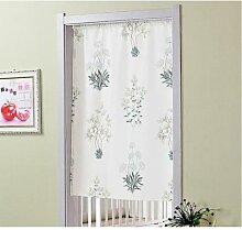 Fyjafon – rideau de porte imprimé, demi-rideau
