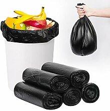 FYY Lot de 5 rouleaux de 100 sacs poubelle 50 x 60