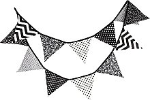 G2PLUS 3.3m Guirlande de fanions de, Bannière