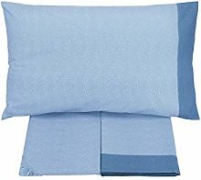 Gabel Parure de lit 1 Place et demie Spot Bleu