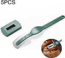 Gadgets cuisine 5 PCS Coupe-pain incurvé Couper