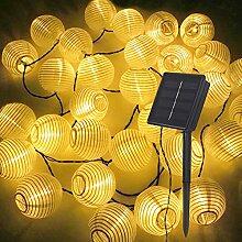 Gadgy Guirlande Lampion Lumineuse Solar   Lanterne