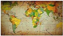 GAGALAM Puzzle Adulte 1500 Pièces Carte du Monde