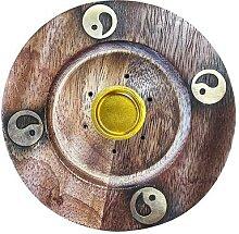 galeo Supports encens Support encens bois zen