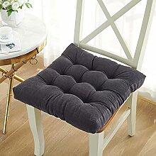Galette de chaise carrée, 10 cm d'épaisseur,