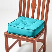 Galette de chaise coussin rehausseur en coton