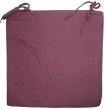 Galette de chaise en coton 40 cm
