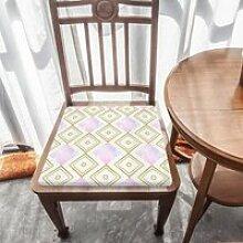 Galette de chaise en mousse à mémoire de forme