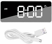 Gancon Horloge numérique, Chargement USB