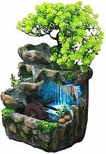 Ganmek Fontaine d'intérieur Cascade avec